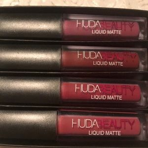 Brand new Huda beauty pink edition 4 pack
